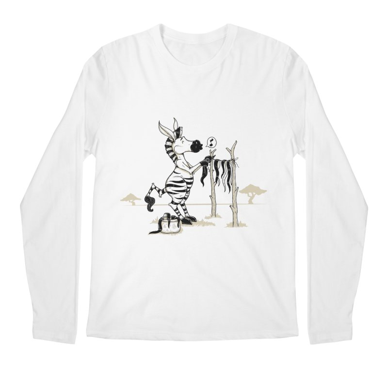 lavando rayas Men's Regular Longsleeve T-Shirt by buyodesign's Artist Shop