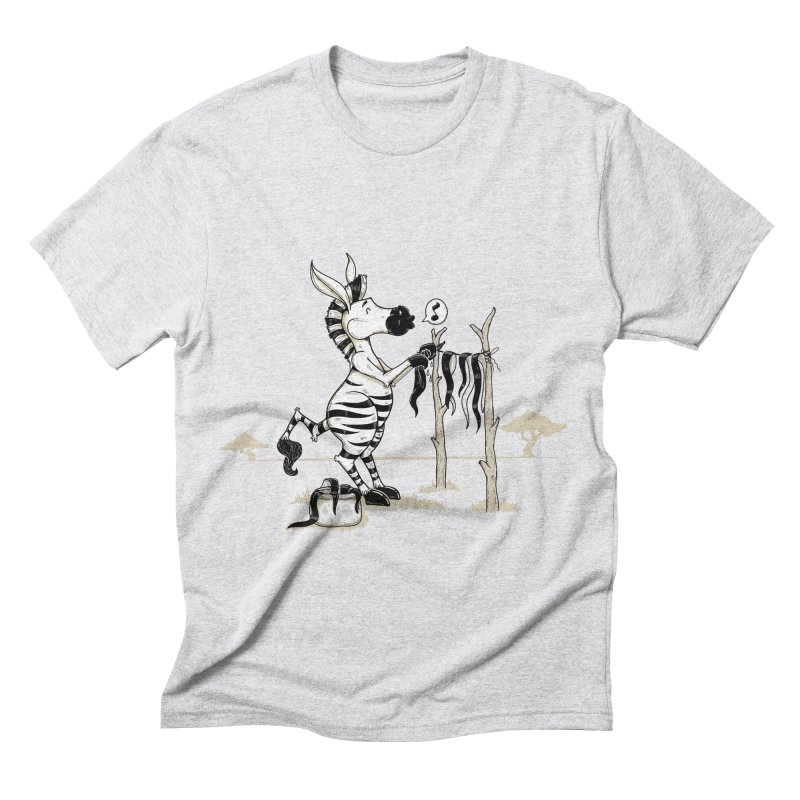 lavando rayas Men's Triblend T-shirt by buyodesign's Artist Shop