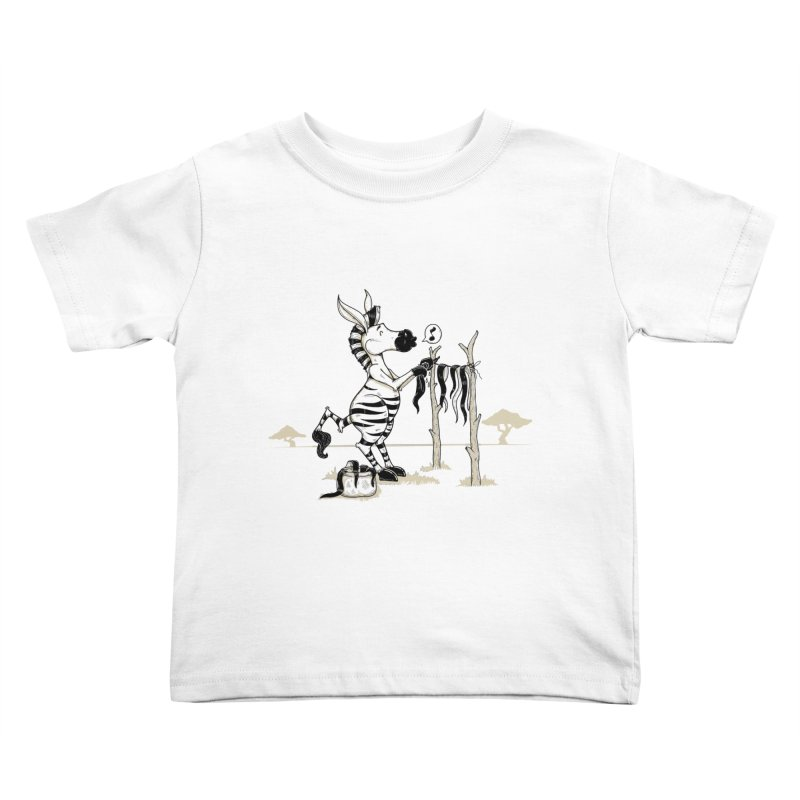 lavando rayas Kids Toddler T-Shirt by buyodesign's Artist Shop