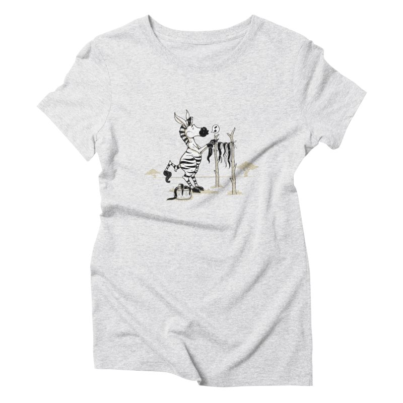 lavando rayas Women's T-Shirt by buyodesign's Artist Shop