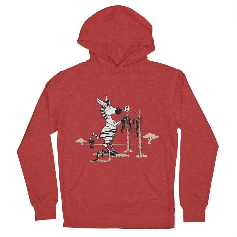 lavando rayas Women's French Terry Pullover Hoody by buyodesign's Artist Shop