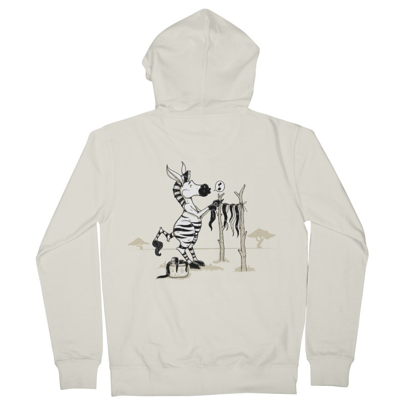lavando rayas Men's French Terry Zip-Up Hoody by buyodesign's Artist Shop