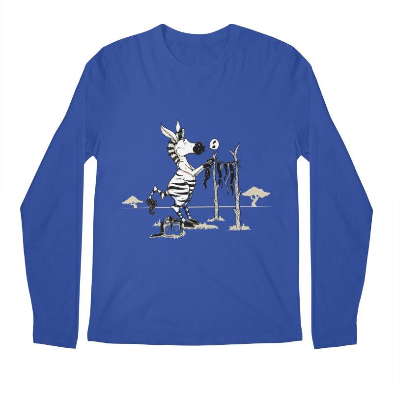lavando rayas Men's Regular Longsleeve T-Shirt by buyodesign's Artist Shop