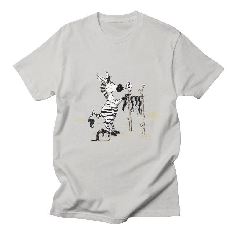 lavando rayas Men's Regular T-Shirt by buyodesign's Artist Shop