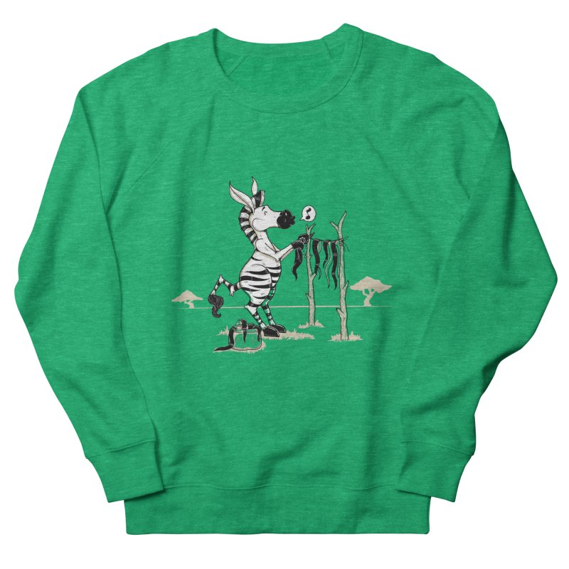 lavando rayas Women's French Terry Sweatshirt by buyodesign's Artist Shop