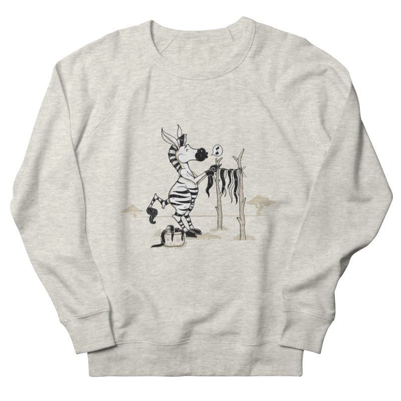 lavando rayas Women's French Terry Sweatshirt by buyodesign's Artist Shop