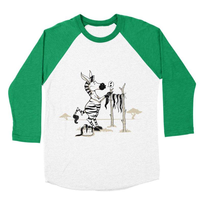 lavando rayas Women's Baseball Triblend T-Shirt by buyodesign's Artist Shop