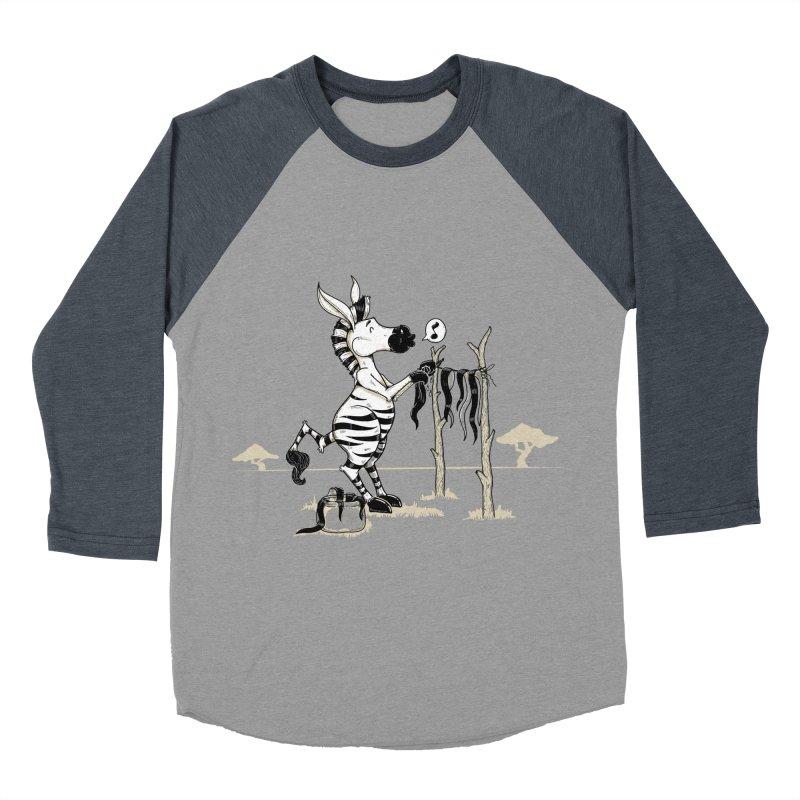lavando rayas Men's Baseball Triblend Longsleeve T-Shirt by buyodesign's Artist Shop