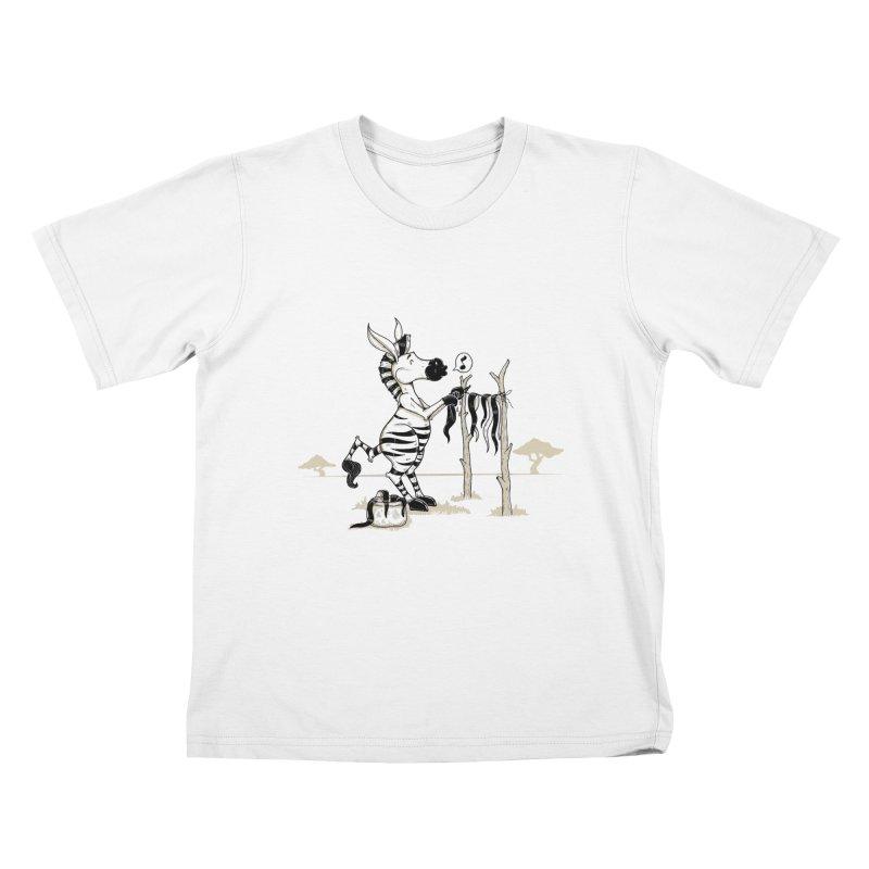 lavando rayas Kids T-shirt by buyodesign's Artist Shop