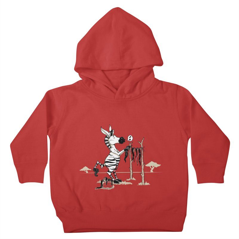lavando rayas Kids Toddler Pullover Hoody by buyodesign's Artist Shop