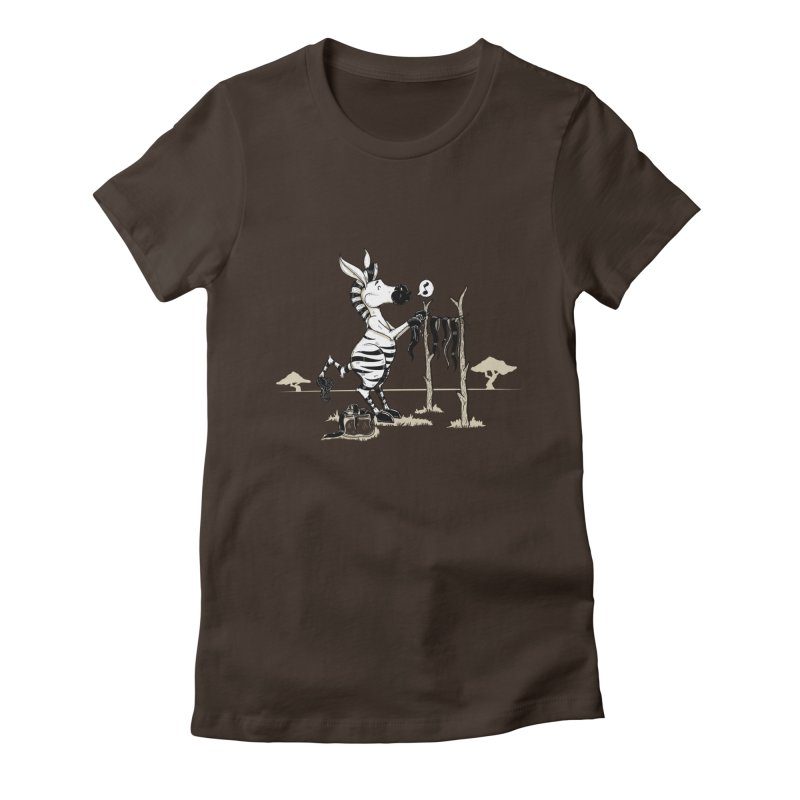 lavando rayas Women's Fitted T-Shirt by buyodesign's Artist Shop