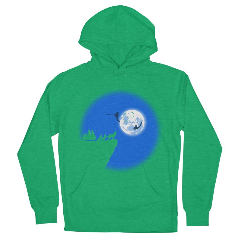 moon serenade Women's French Terry Pullover Hoody by buyodesign's Artist Shop