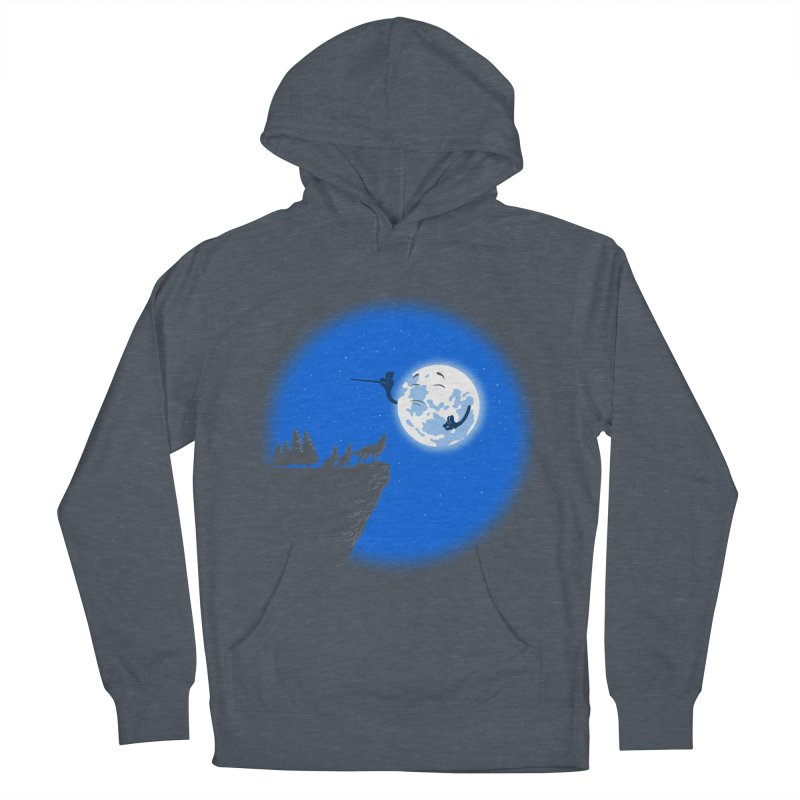 moon serenade Women's Pullover Hoody by buyodesign's Artist Shop