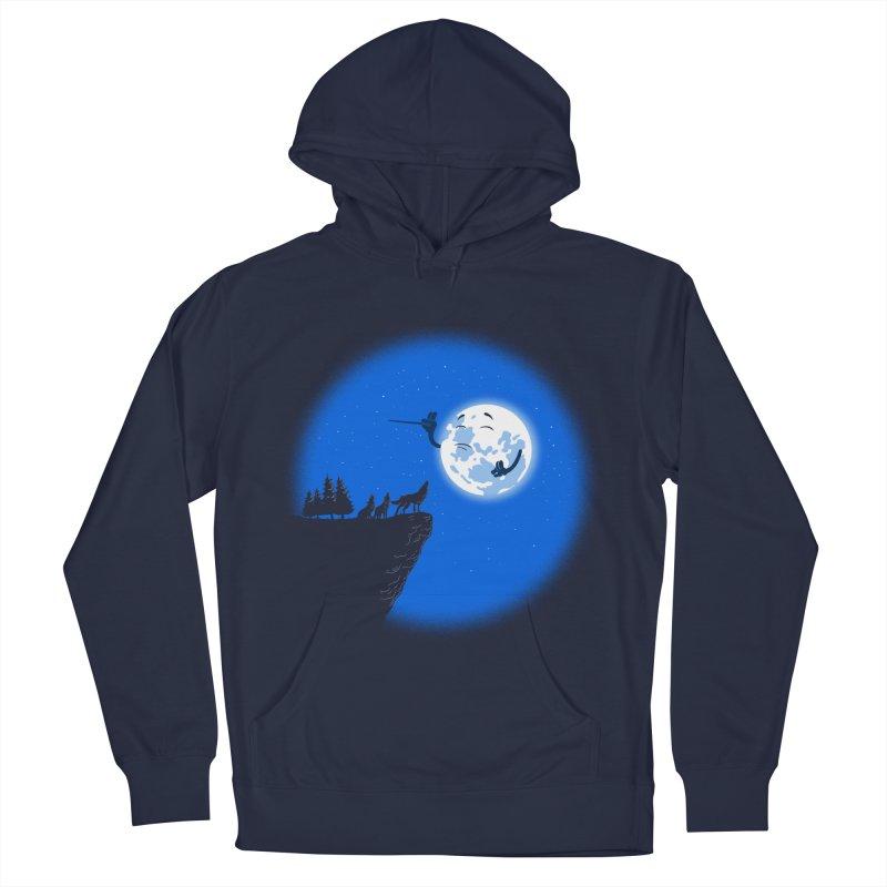 moon serenade Men's Pullover Hoody by buyodesign's Artist Shop
