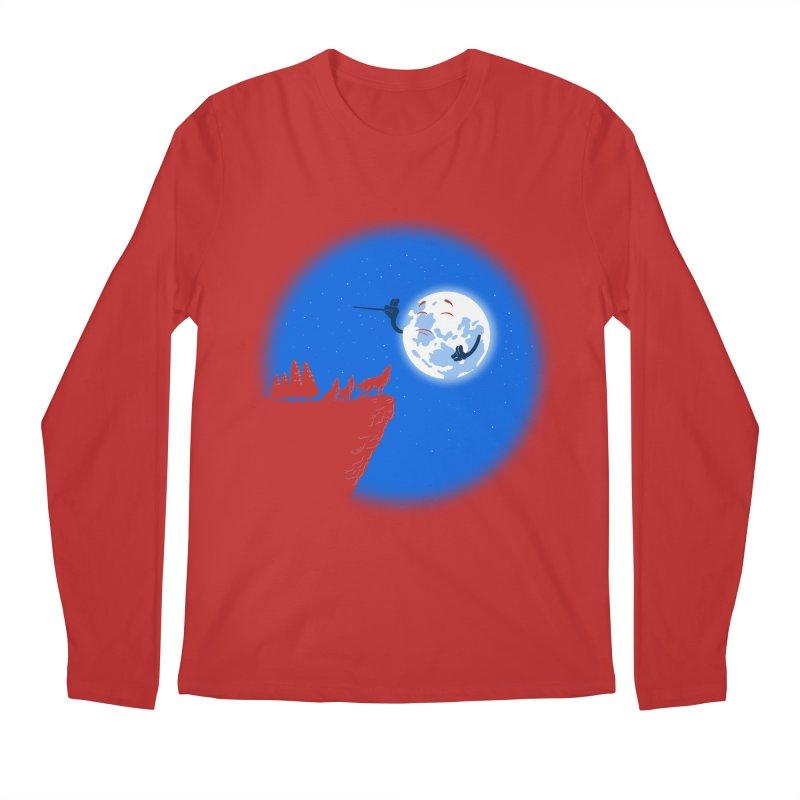 moon serenade Men's Regular Longsleeve T-Shirt by buyodesign's Artist Shop