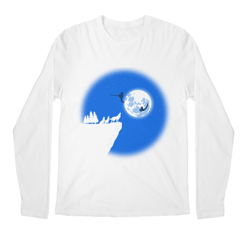 moon serenade Men's Longsleeve T-Shirt by buyodesign's Artist Shop