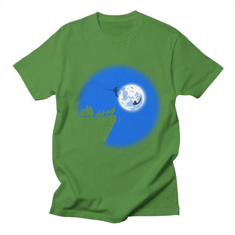 moon serenade Men's T-shirt by buyodesign's Artist Shop