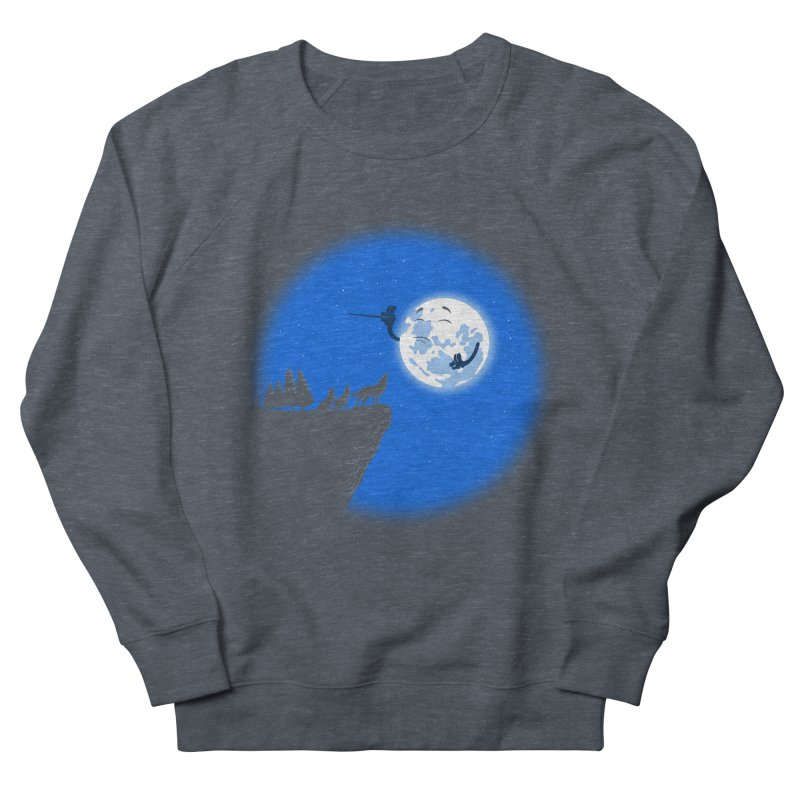 moon serenade Women's French Terry Sweatshirt by buyodesign's Artist Shop