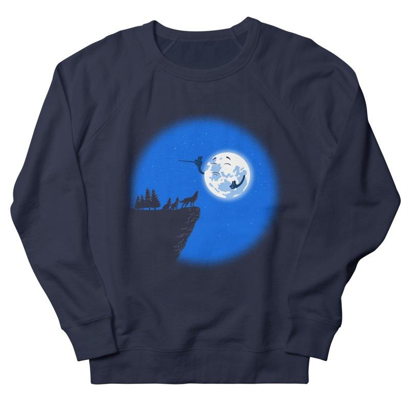 moon serenade Women's Sweatshirt by buyodesign's Artist Shop