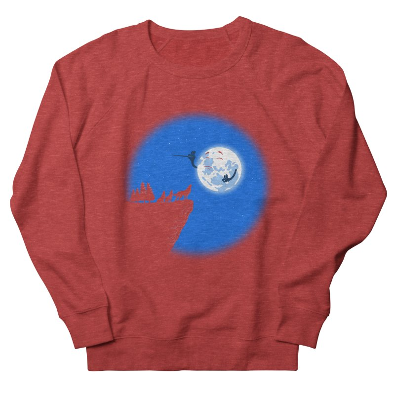 moon serenade Men's French Terry Sweatshirt by buyodesign's Artist Shop
