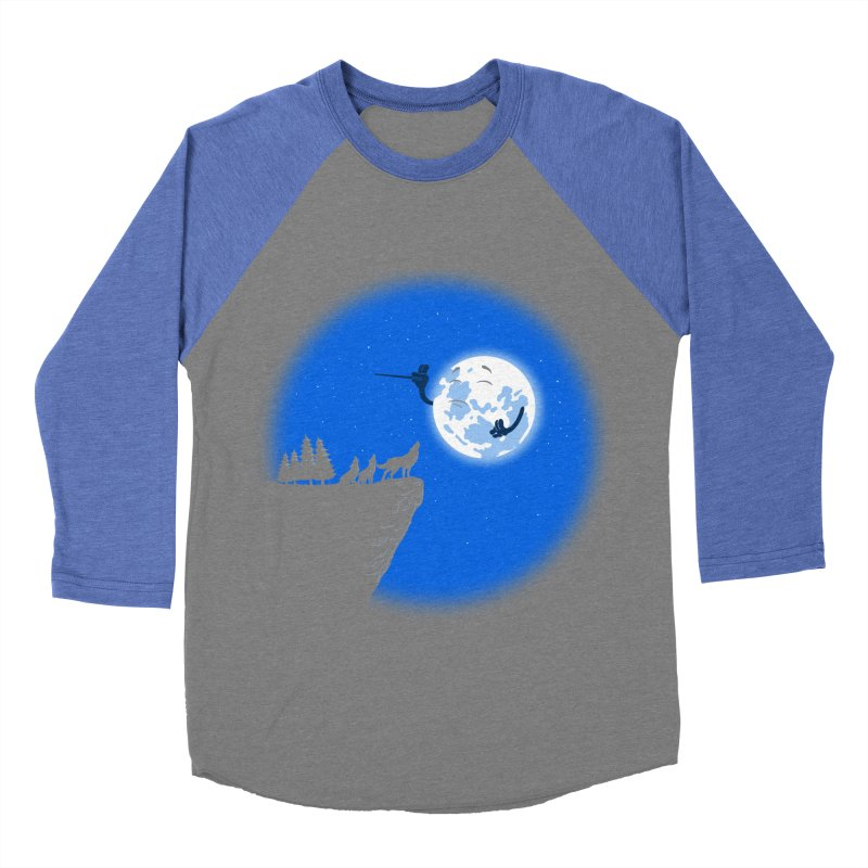 moon serenade Women's Baseball Triblend T-Shirt by buyodesign's Artist Shop