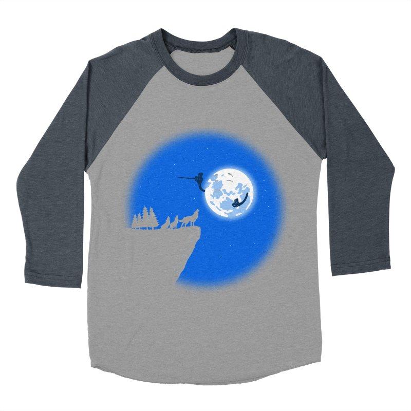 moon serenade Women's Baseball Triblend Longsleeve T-Shirt by buyodesign's Artist Shop