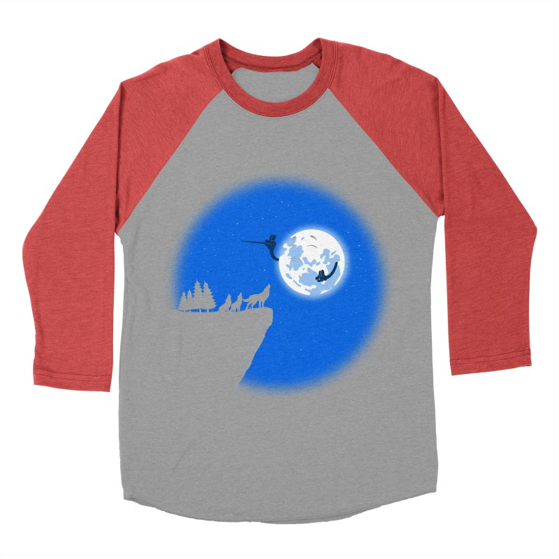 moon serenade Men's Baseball Triblend T-Shirt by buyodesign's Artist Shop