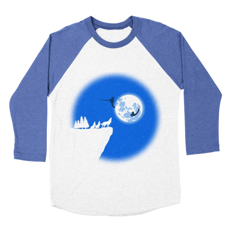 moon serenade Men's Baseball Triblend T-Shirt by buyodesign's Artist Shop