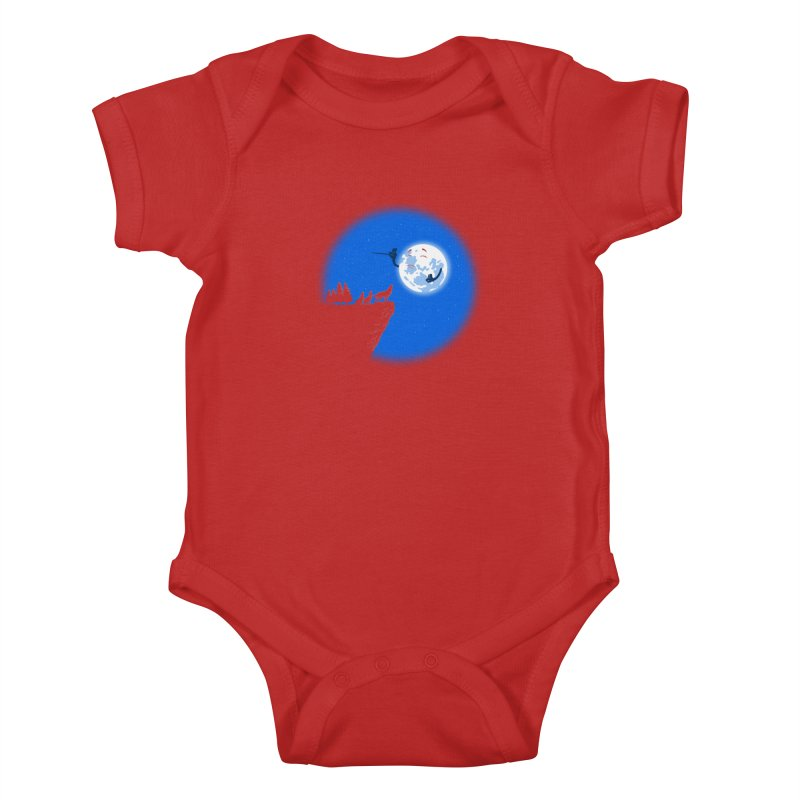 moon serenade Kids Baby Bodysuit by buyodesign's Artist Shop