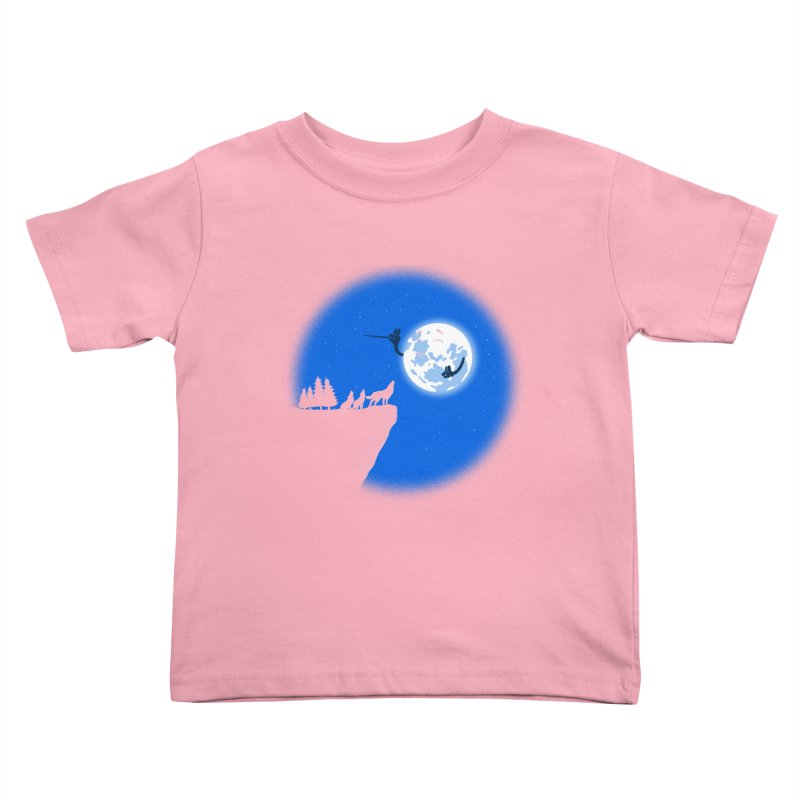 moon serenade Kids Toddler T-Shirt by buyodesign's Artist Shop