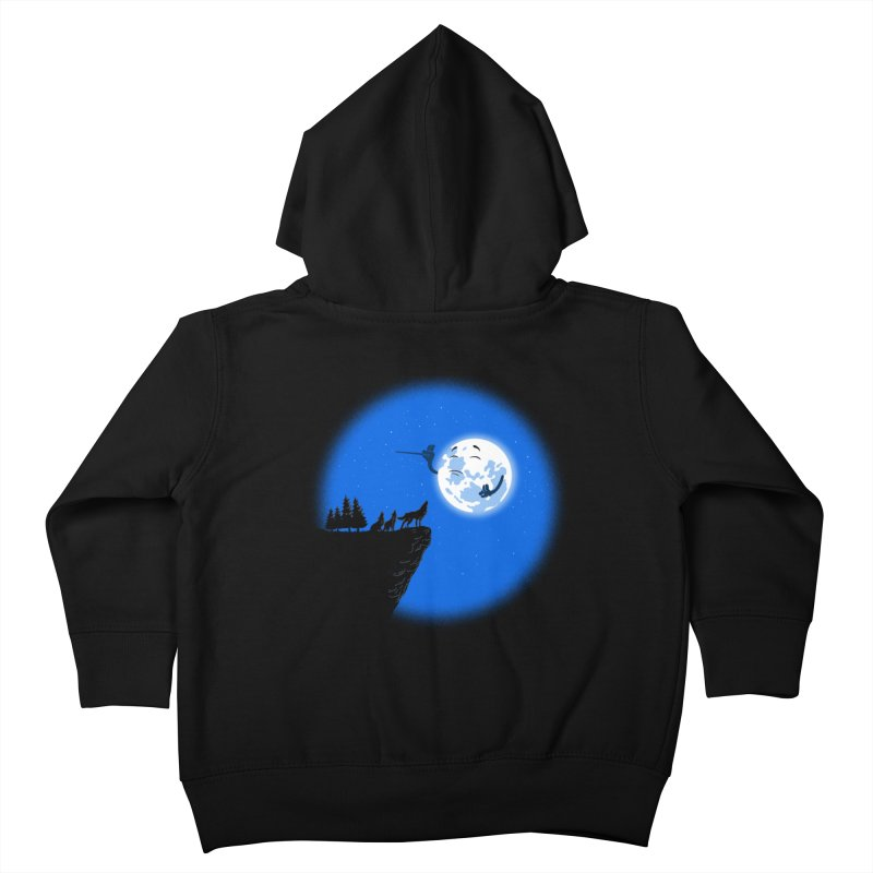 moon serenade Kids Toddler Zip-Up Hoody by buyodesign's Artist Shop