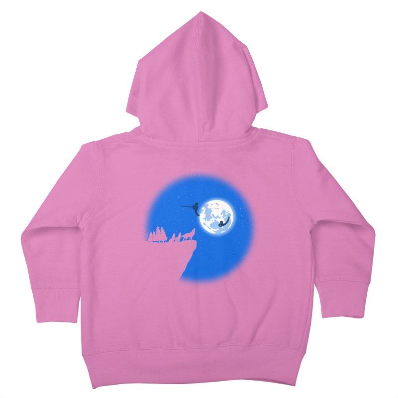 moon serenade Kids Toddler Zip-Up Hoody by buyodesign's Artist Shop