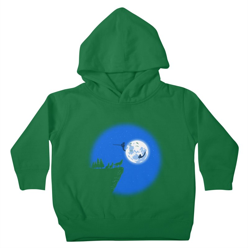 moon serenade Kids Toddler Pullover Hoody by buyodesign's Artist Shop