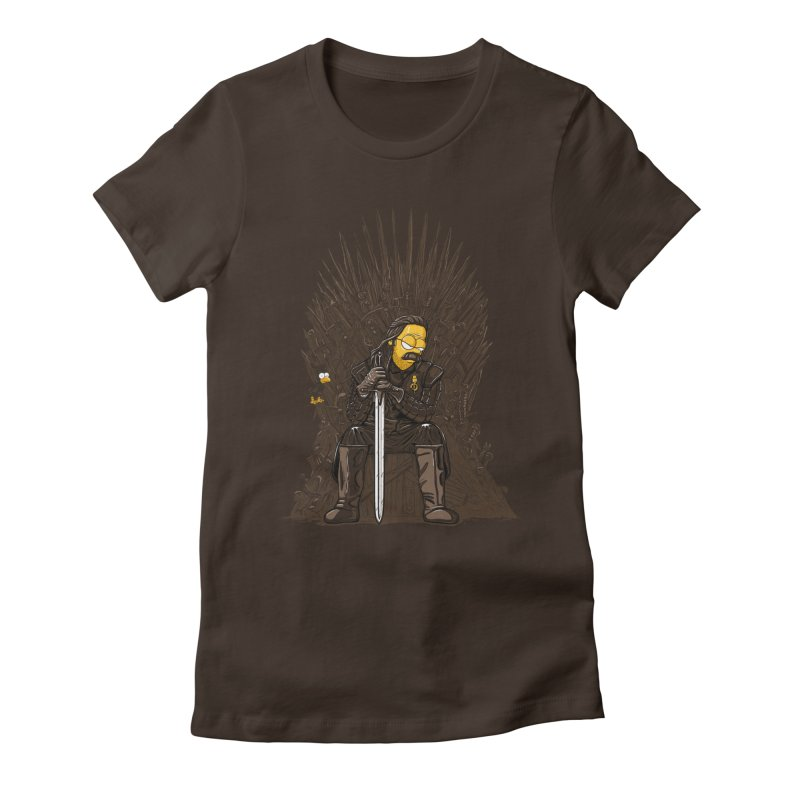 Ned Women's Fitted T-Shirt by buyodesign's Artist Shop