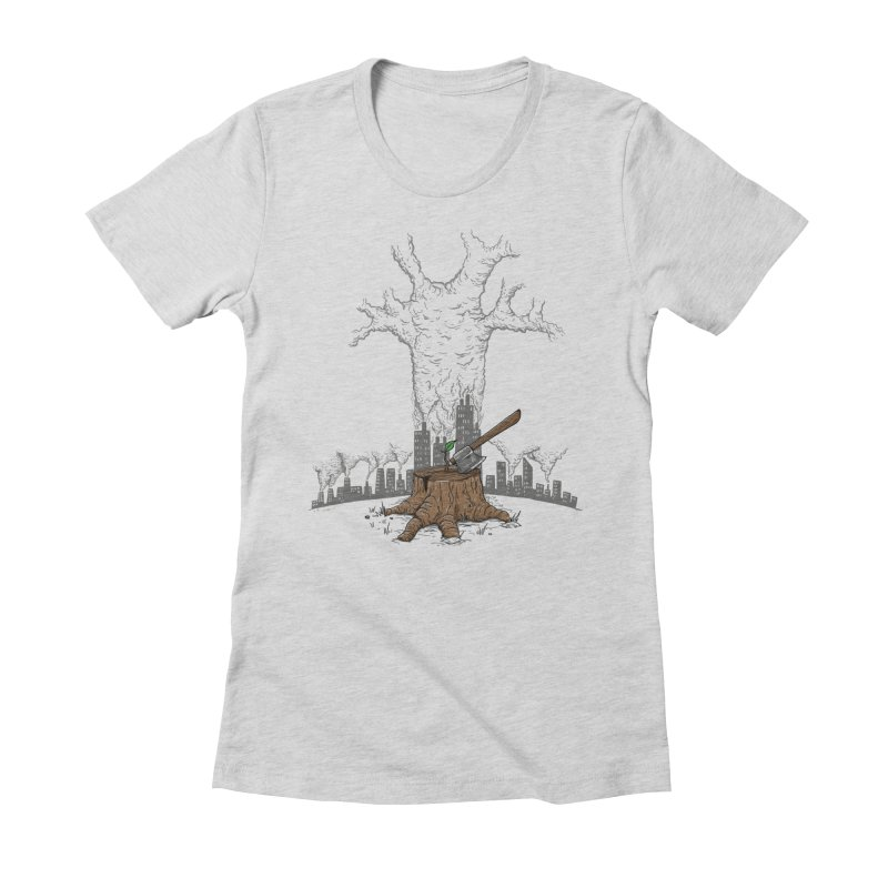 No pierdas la esperanza Women's Fitted T-Shirt by buyodesign's Artist Shop