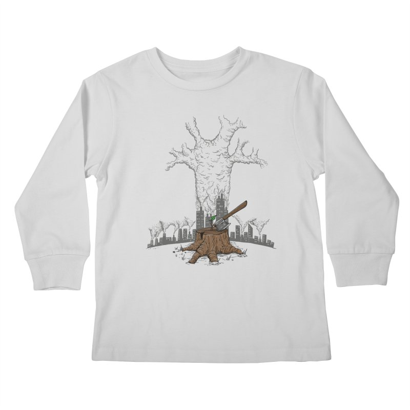 No pierdas la esperanza Kids Longsleeve T-Shirt by buyodesign's Artist Shop