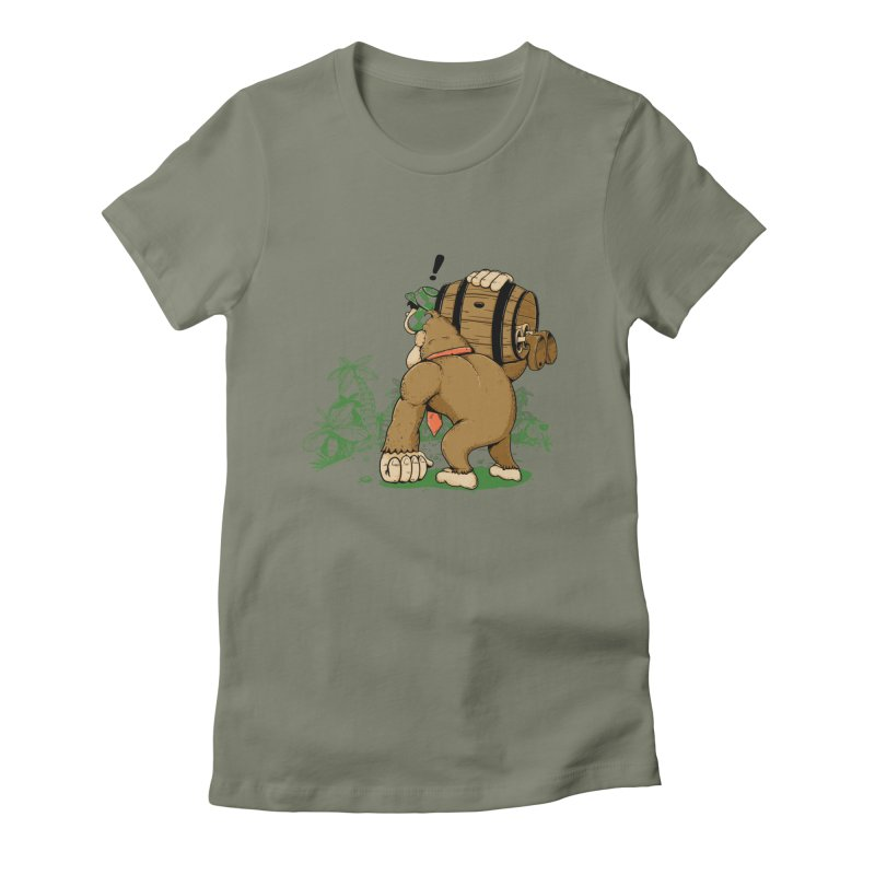 y ahora quien podra defenderme Women's Fitted T-Shirt by buyodesign's Artist Shop