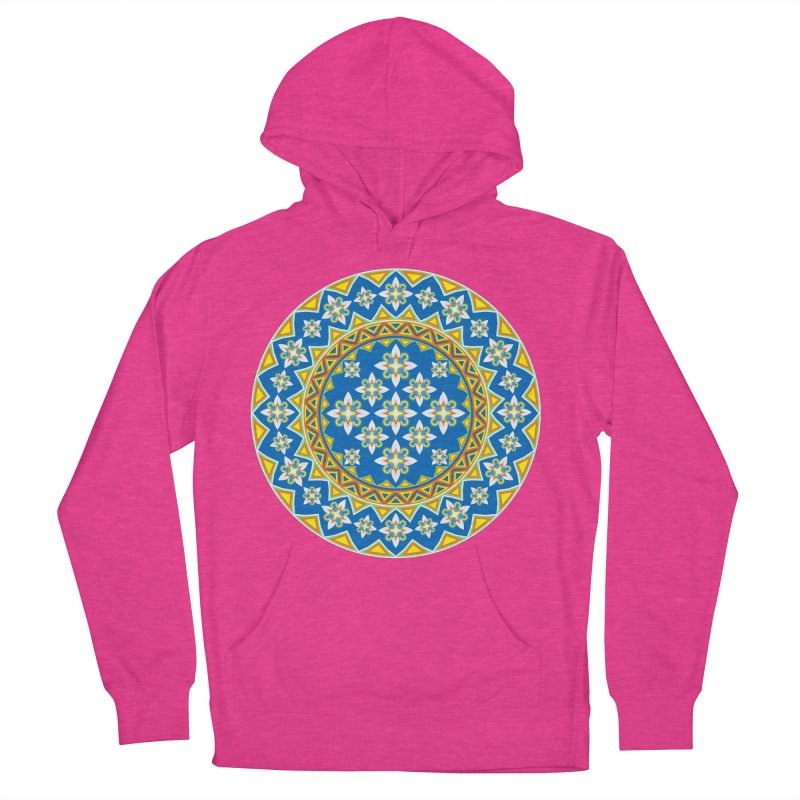 Space Flower Array Men's Pullover Hoody by Universe Deep Inside