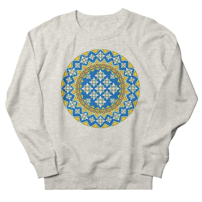 Space Flower Array Men's Sweatshirt by Universe Deep Inside