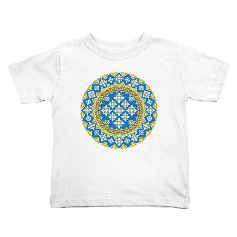Space Flower Array Kids Toddler T-Shirt by Universe Deep Inside