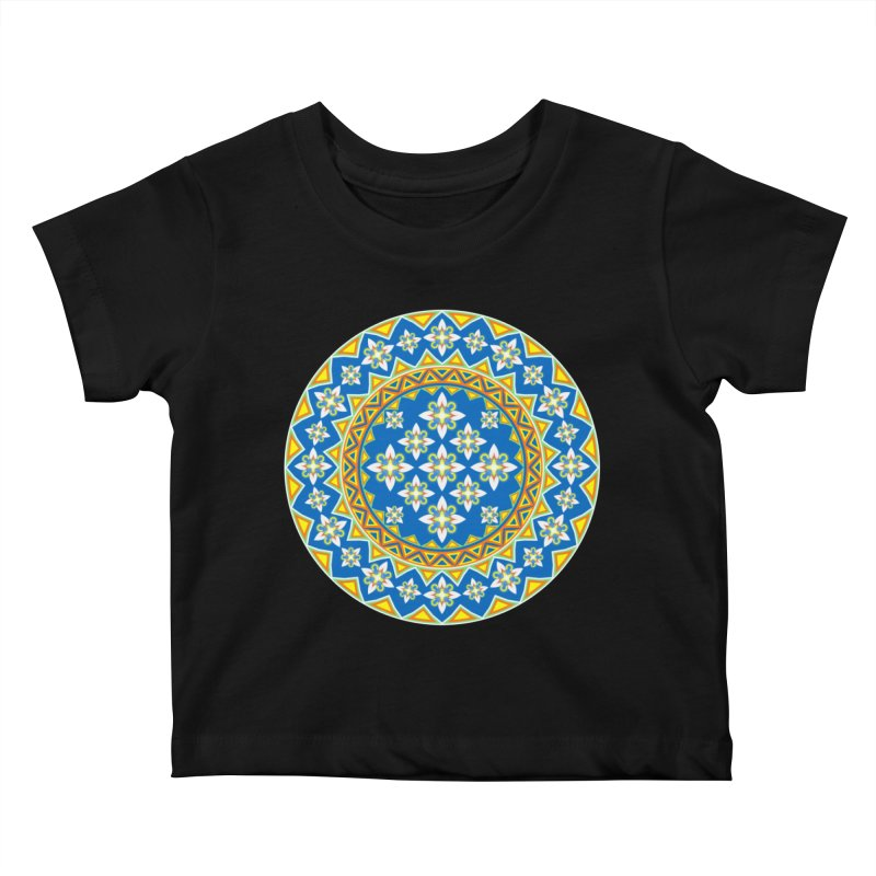 Space Flower Array Kids Baby T-Shirt by Universe Deep Inside