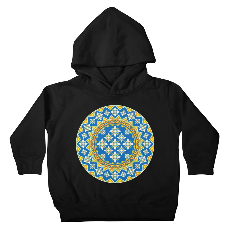 Space Flower Array Kids Toddler Pullover Hoody by Universe Deep Inside
