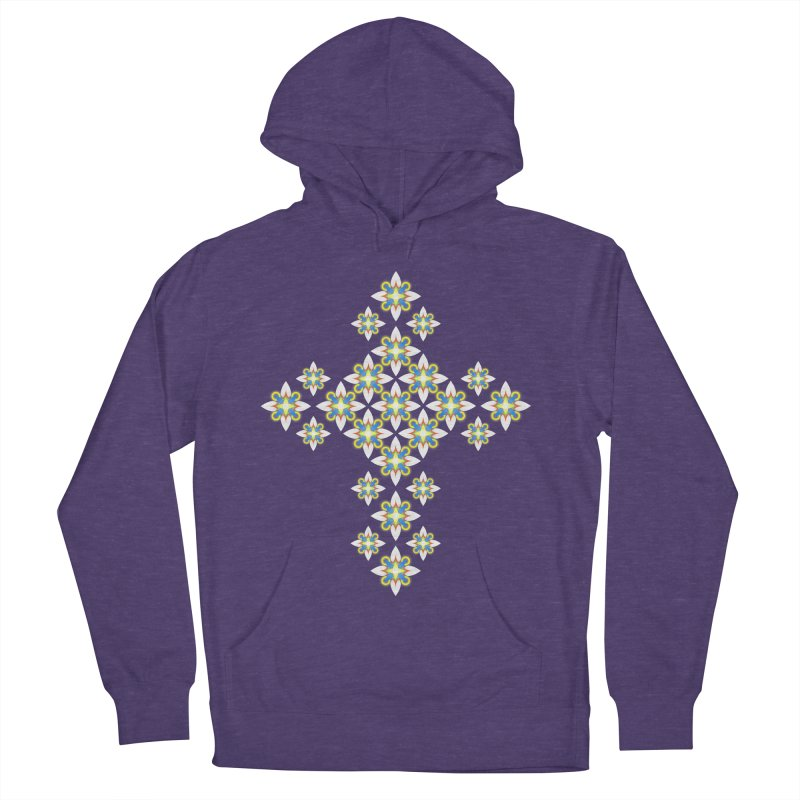 Space Flower Cross Women's Pullover Hoody by Universe Deep Inside