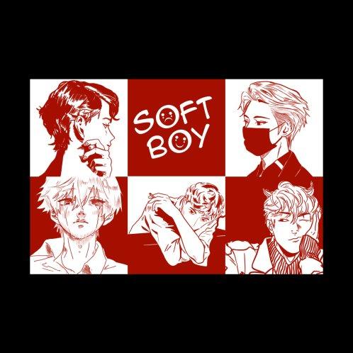 Design for Soft Boy Anime Manga Aesthetic
