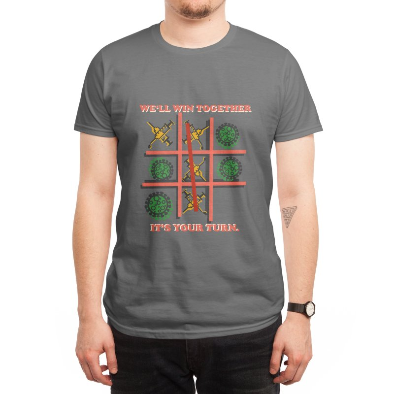It's Your Turn To Vaccinate Men's T-Shirt by BVRDTO
