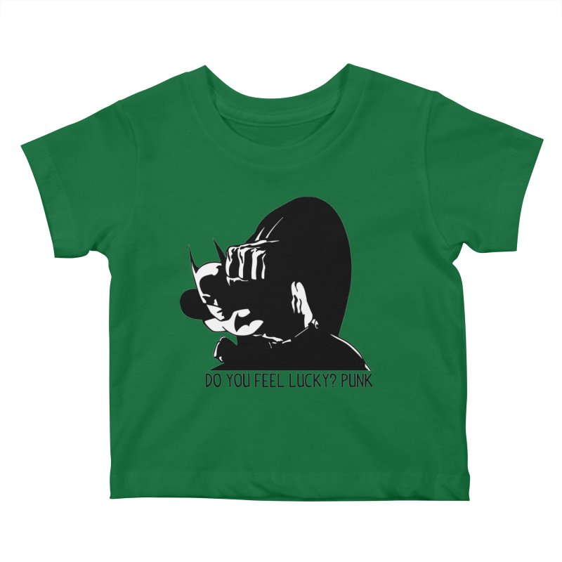 Batman - Do You Feel Lucky Punk? First Hit Kids Baby T-Shirt by Bware Clothing's Shop