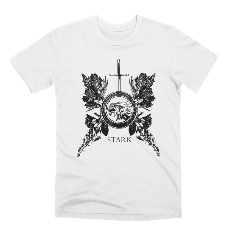 House Stark Shield Men's T-Shirt by Bware Clothing's Shop