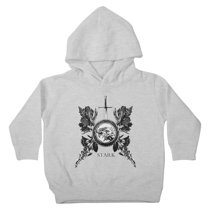 House Stark Shield Kids Toddler Pullover Hoody by Bware Clothing's Shop