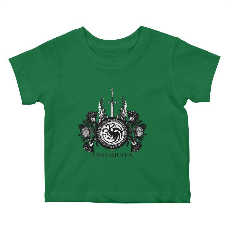 House Targaryen Kids Baby T-Shirt by Bware Clothing's Shop