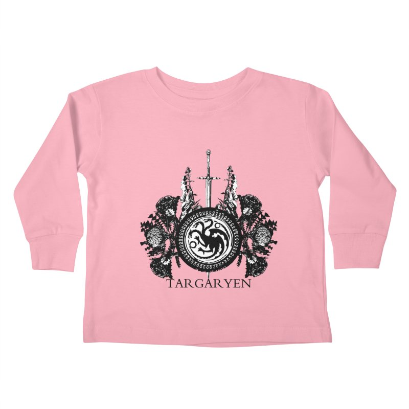 House Targaryen Kids Toddler Longsleeve T-Shirt by Bware Clothing's Shop